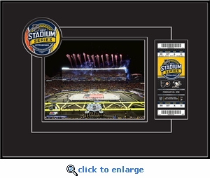 2017 NHL Stadium Series 8x10 Photo Ticket Frame - Flyers vs Penguins