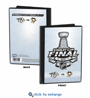 2017 NHL Stanley Cup Final 4x6 Photo Album / Brag Book - Predators vs Penguins