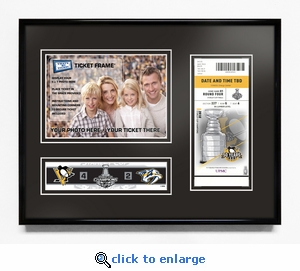 2017 NHL Stanley Cup Champions 5x7 Photo &�Ticket Frame - Pittsburgh Penguins