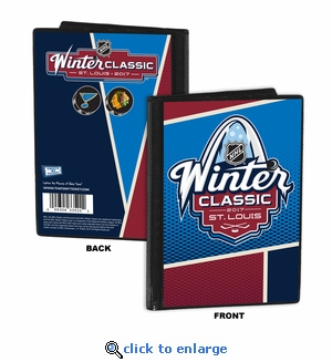 2017 NHL Winter Classic 4x6 Photo Album - Blackhawks vs Blues
