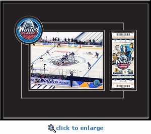 2017 NHL Winter Classic 8x10 Photo Ticket Frame - Blackhawks vs Blues