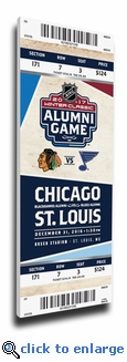 2017 NHL Winter Classic Alumni Game Mega Ticket - Blackhawks vs Blues