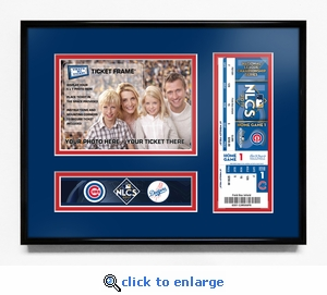 2017 NLCS Your 5x7 Photo Ticket Frame - Chicago Cubs