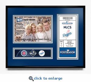 2017 NLCS Your 5x7 Photo Ticket Frame - Los Angeles Dodgers