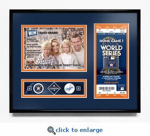 2017 World Series Champions 5x7 Photo Ticket Frame - Houston Astros