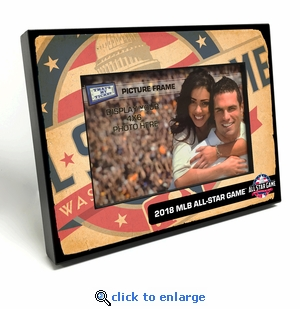 2018 MLB All-Star Game 4x6 Picture Frame (Capitol Bldg) - Washington Nationals