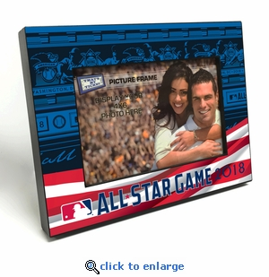 2018 MLB All-Star Game 4x6 Picture Frame (Flag) - Washington Nationals