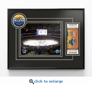 2018 NHL All-Star Game 8x10 Photo Ticket Frame - Tampa Bay Lightning