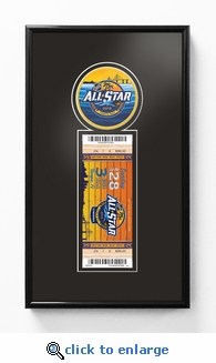 2018 NHL All-Star Game Single Ticket Frame - Tampa Bay Lightning