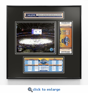 2018 NHL All-Star Game Ticket Frame Jr - Tampa Bay Lightning