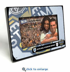 2018 NHL Stadium Series 4x6-inch Picture Frame - Maple Leafs vs Capitals