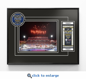 2018 NHL Stadium Series 8x10 Photo Ticket Frame - Maple Leafs vs Capitals