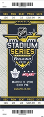 2018 NHL Stadium Series - Maple Leafs vs Capitals