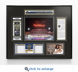 2018 NHL Stadium Series Ticket Frame - Maple Leafs vs Capitals