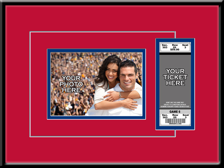 5x7 Photo Ticket Frame