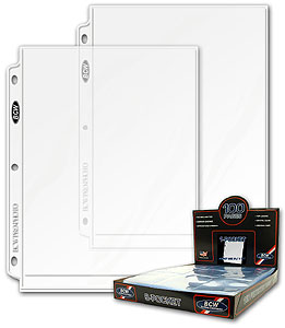 8x10 Photo Pages - 100 Count Box