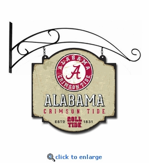 Alabama Crimson Tide 16 X 16 Metal Tavern / Pub Sign