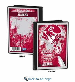 Alabama Crimson Tide 2015 Football National Champions 4x6 Photo Album