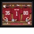 Alabama Crimson Tide Personalized Football Locker Room Print