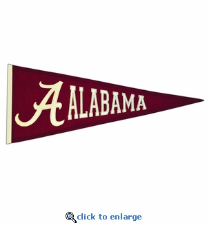 Alabama Crimson Tide Traditions Wool Pennant (13 X 32)