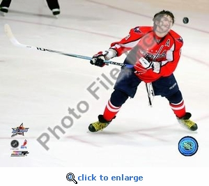 Alex Ovechkin 2008 NHL All-Star Game Skills Competition 8x10 Photo