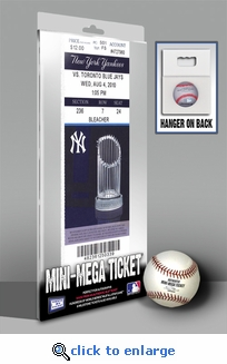 Alex Rodriguez 600th Home Run Mini-Mega Ticket - New York Yankees
