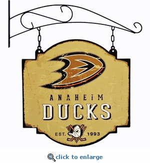 Anaheim Ducks 16 X 16 Metal Tavern / Pub Sign
