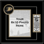 Anaheim Ducks 8x10 Photo Ticket Frame