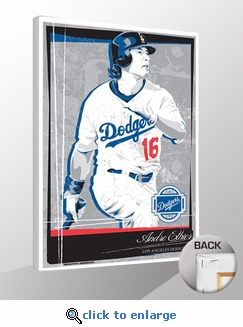 Andre Ethier Sports Propaganda Canvas Print - Dodgers