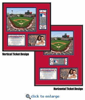 Angel Stadium of Anaheim Ticket Frame - Angels