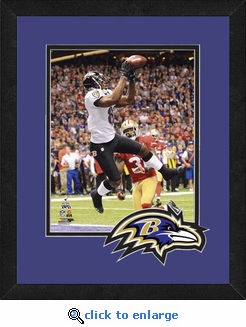 Anquan Boldin/Baltimore Ravens Framed Super Bowl 47 Action Photo