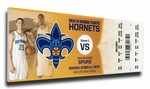 Anthony Davis NBA Debut Canvas Mega Ticket - New Orleans Hornets