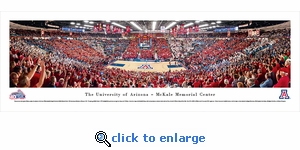 Arizona Basketball - 40th Anniversary - Panoramic Photo (13.5 x 40)