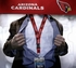 Arizona Cardinals NFL Lanyard Key Chain and Ticket Holder - Red
