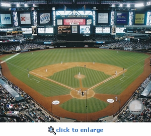 Arizona Diamondbacks Chase Field 8x10 Photo