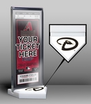 Arizona Diamondbacks Home Plate Ticket Display Stand