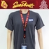 Arizona State Sun Devils NCAA Lanyard Key Chain and Ticket Holder - Yellow