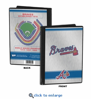Atlanta Braves 4x6 Mini Photo Album