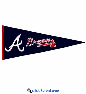 Atlanta Braves Traditions Wool Pennant (13 x 32)