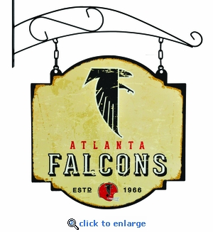 Atlanta Falcons 16 X 16 Metal Tavern / Pub Sign