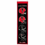 Atlanta Falcons Heritage Wool Banner (8 x 32)