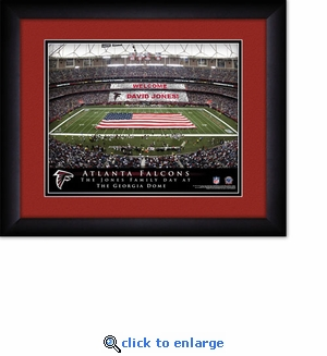 Atlanta Falcons Personalized Mercedes-Benz Stadium Print