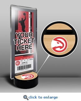 Atlanta Hawks Ticket Display Stand