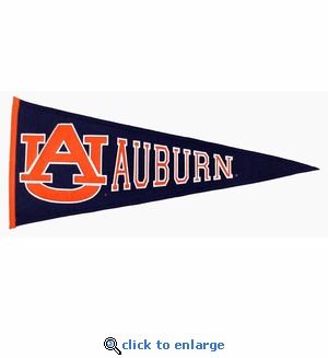 Auburn Tigers Traditions Wool Pennant (13 X 32)