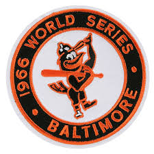 Baltimore Orioles 1966 World Series Champions Commemorative Embroidered Patch