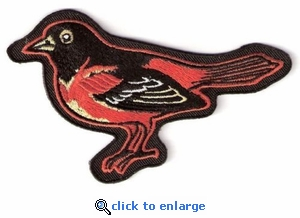 Baltimore Orioles Embroidered Patch