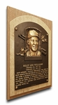 Billy Williams Baseball Hall of Fame Plaque on Canvas - Chicago Cubs