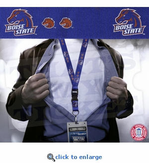 Boise State Broncos NCAA Lanyard Key Chain and Ticket Holder