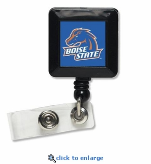 Boise State Retractable Ticket Badge Holder