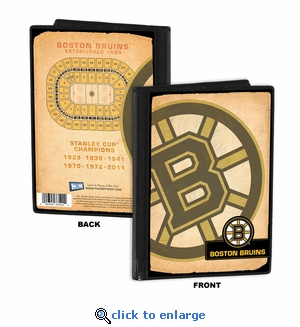 Boston Bruins 4x6 Photo Album / Brag Book